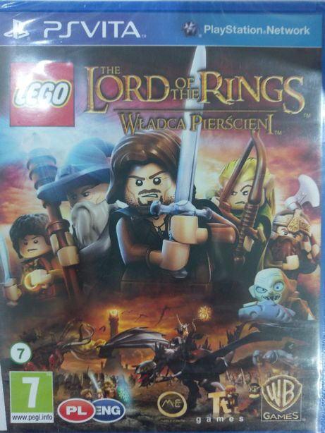 Lego The Lord of the Rings PL PSVita Nowa Kraków