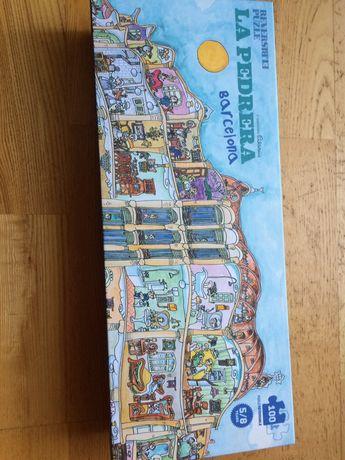 Puzzle LA PEDRERA Barcelona dla dzieci 5-8
