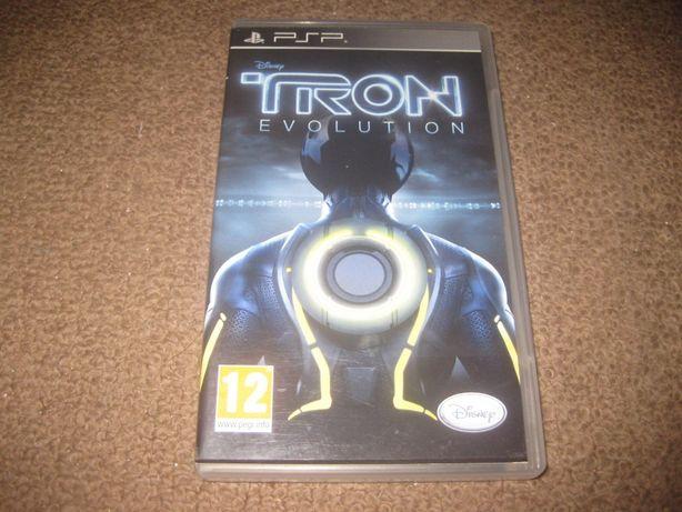 """Jogo para PSP """"Tron: Evolution"""" Impecável/Completo!"""