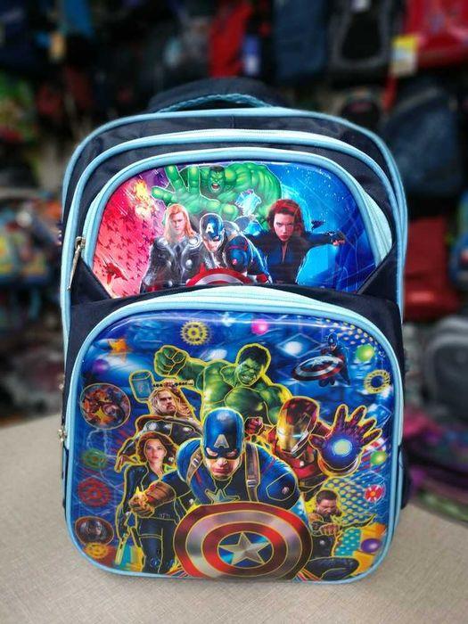 Рюкзак портфель для мальчика(разные расцветки) Смела - изображение 1