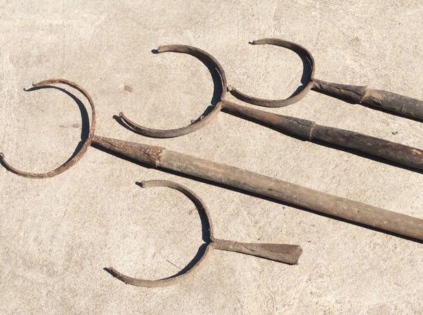 Рогач ухват для казанка ( для печки)
