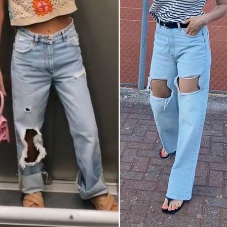Джинсы Zara как Mango H&M Tommy Gas Guess
