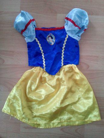Królewna Śnieżka księżniczka sukienka przebranie kostium strój 104 cm
