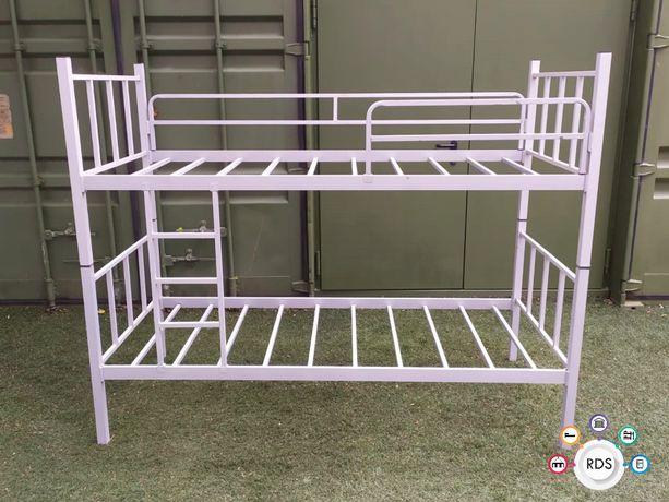 Łóżko PIĘTROWE metalowe hotelowe pracownicze B-40 HURT Duże ilości