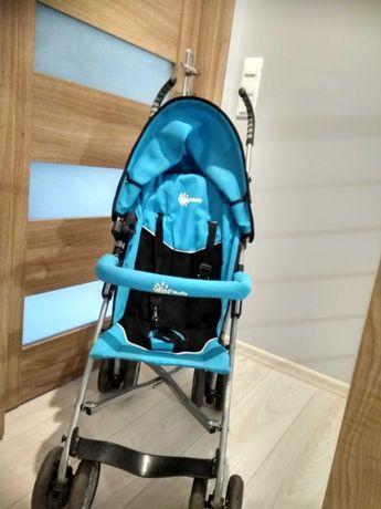 Wózek parasolka niebieski