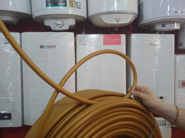 Итальянская труба для теплого пола с кислородным барьером Pex A