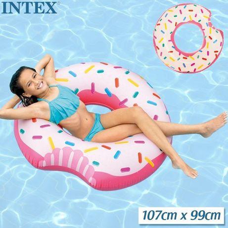 Надувний круг Пончик, 107см.