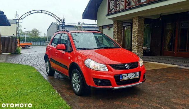 Suzuki Sx4 1,6 Benzyna 4x4 Stan Idealny