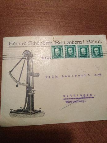 Koperty pocztowe lata 20-30-40