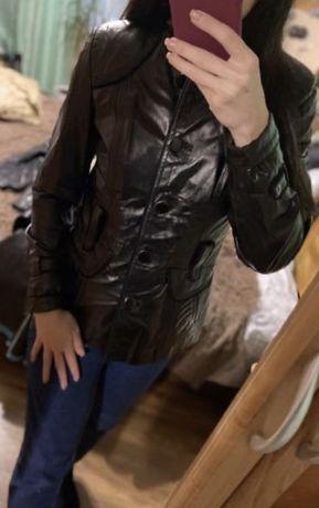 Кожаная куртка, пальто кашемир