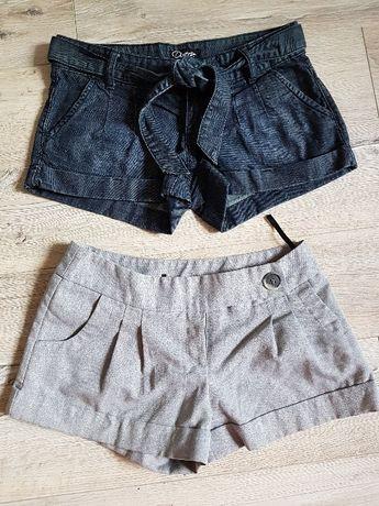 Śliczne Spodenki krótkie spodnie na lato r.S H&M Atmosphere Diverse