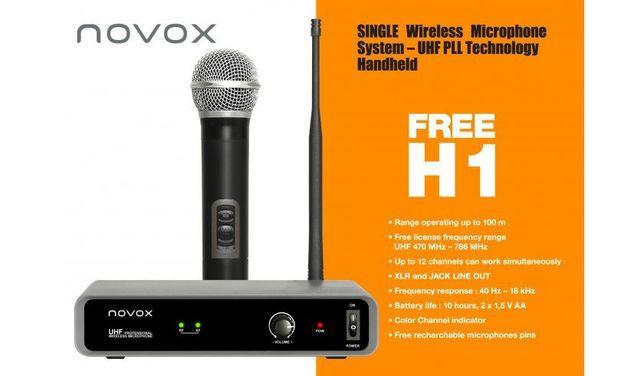 Mikrofon bezprzewodowy do ręki Novox FREE H1