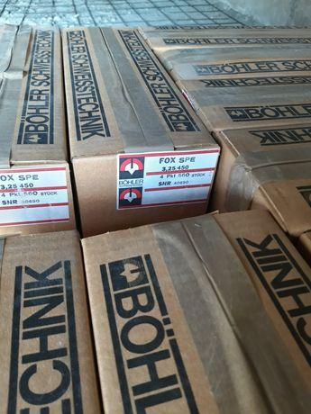 Продам электроды  цена за пачку 3.25/450  6 кг. В пачке.