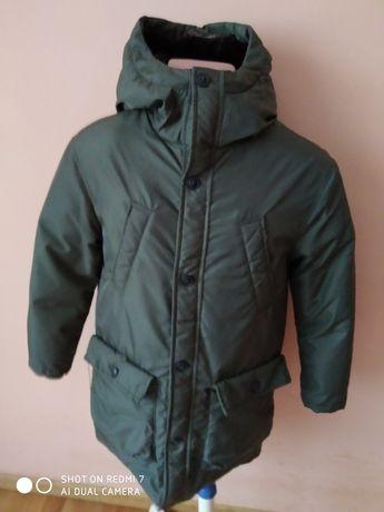 Куртка парка  пухова для хлопця zara(152см росту)