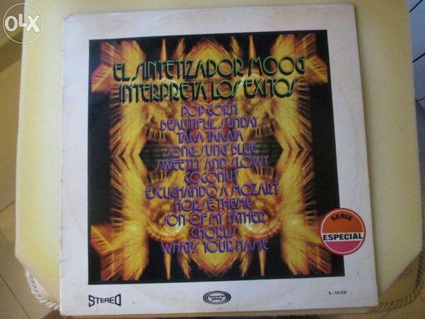 LP El Sintetizador Moog (orquestra)