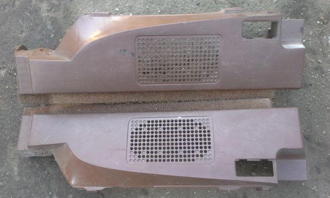 Maskownice głośników, plastiki tylne, brązowe, VW Golf mk1