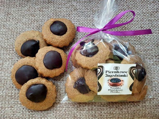 Piernikowe jagodzianki Pierniki z jagodami Naturalne EKO