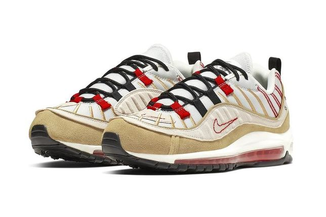 Nike Air Max 98 Inside Out Desert Sand. StockX Verified