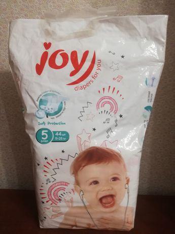 Памперсы Joy 5 пол пачки