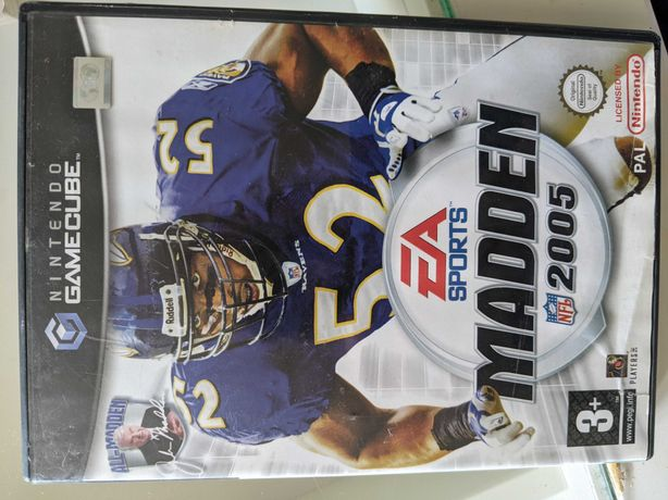 2 gry Gamecube Madden 2005 i Knockout Kings 2003