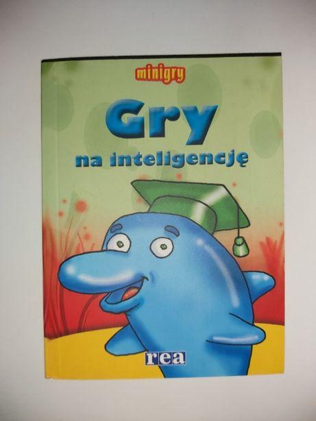 """Książeczka ,,Gry na inteligencję"""""""