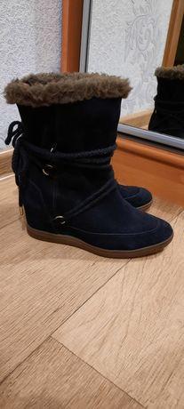 Ботинки сникерсы Tommy Hilfiger натуральная замша Оригинал