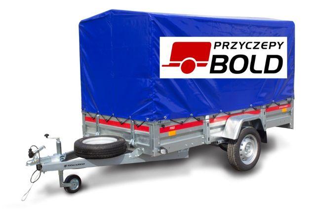 Wynajem przyczepki transportowej 263x125, h110cm DMC:750kg