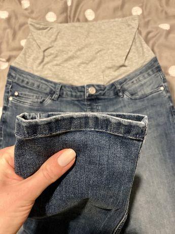 Dżinsy jeansy esmara ciążowe wysoki pas super stan