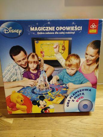 Gra rodzinna Magiczne Opowieści z płytą DVD Disney