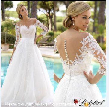 Sprzedam suknię ślubną LADYBIRD model 417032 roz.38