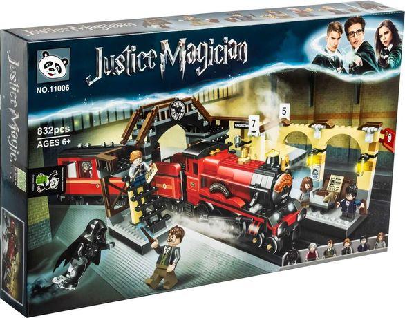 Конструктор Гарри Поттер - Хогвартс-Экспресс, аналог Lego 75955
