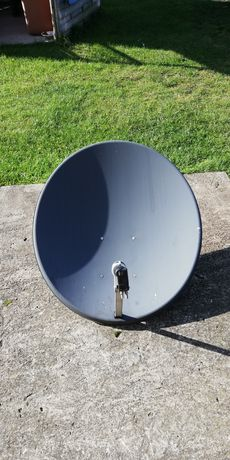 Antena satelitarna duża czasza 80 cm konwerter