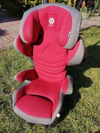 Fotelik samochodowy Kiddy 15-36 smartfix czerwony - ISOFIX