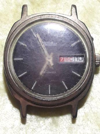 Годинник наручний позолочений,робочий