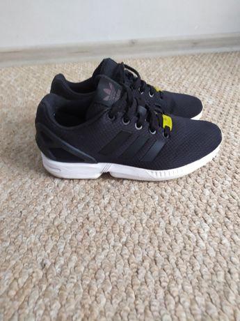 Черные беговые кроссовки Adidas 36 р, фирменные кросовки сетка