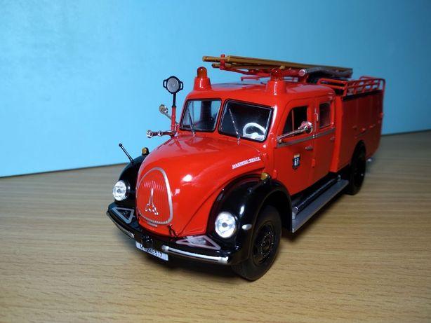 Camião bombeiros 1/43 portes gratis