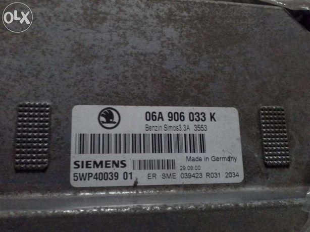 skoda octavia 1.6 bfq,шкода октавия тур, блок управления двигателем