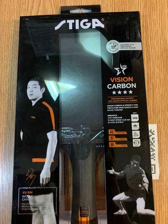 Ракетка для настольного тенниса Stiga Vision Carbon 4-Star