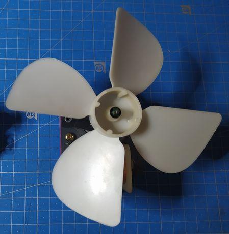 Детали микроволновки: вентилятор с крыльчаткой
