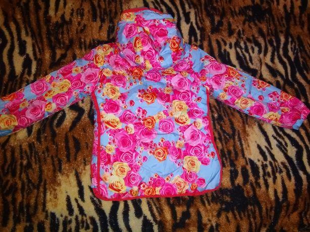 Куртка дитяча кольорова