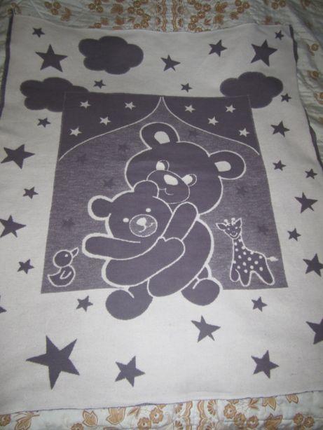 Одеяло детское хлопковое 120*100