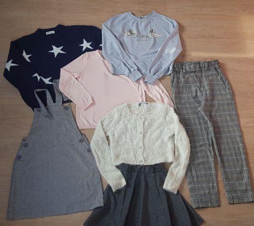 Пакет одежды на девочку 8-10 лет