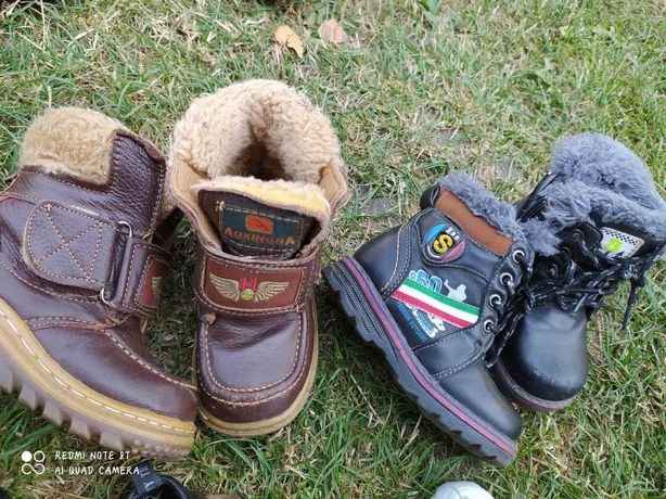 Ботинки обувь для мальчика