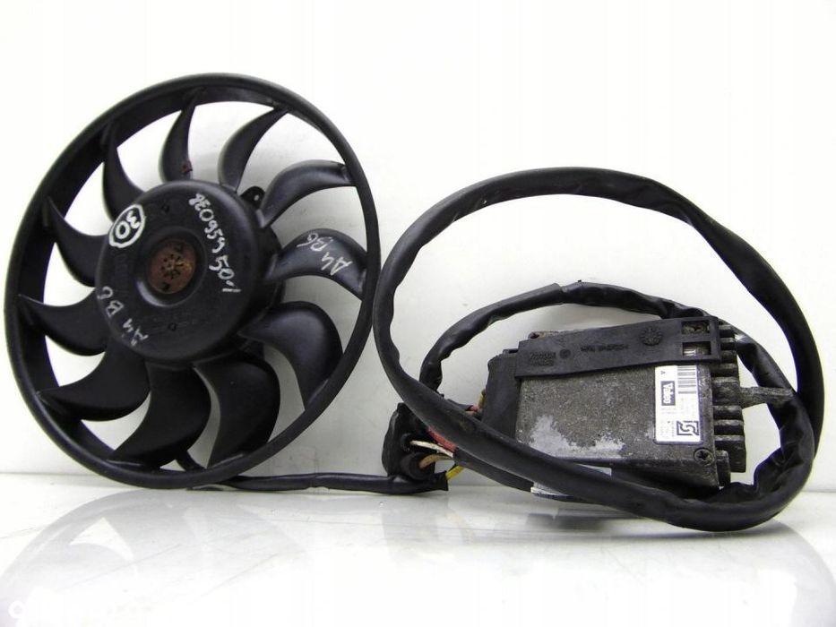 WENTYLATOR CHŁODNICY + Sterownik moduł audi a4 b6 Gorlice - image 1