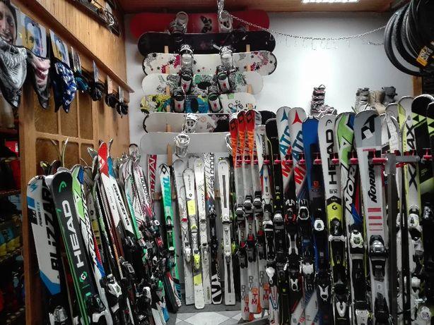 Wypożyczalnia nart, snowbordów, butów narciarskich Sulejówek