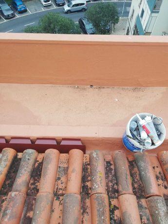 pintor   limpa  telha e impermebealiza predios vivendas terracos