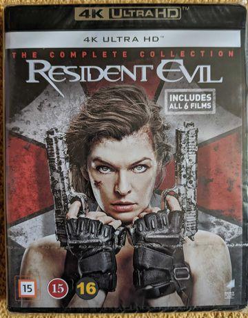 Resident Evil 1-6 - Kompletna kolekcja 6 filmów [4K UHD Blu-Ray][PL]