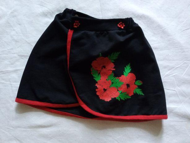 украинская юбка на девочку 3г