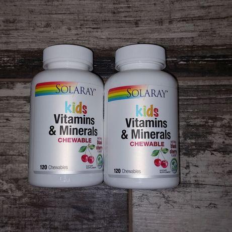 Витамины и минералы для детей в форме жевательных таблеток