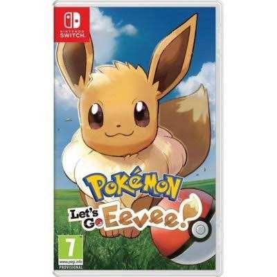 Pokemon Let's go Eevee na Konsole Nintendo Switch
